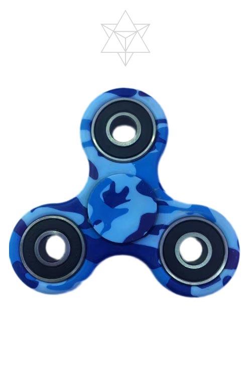 FIDGET SPINNER – BLUE CAMO
