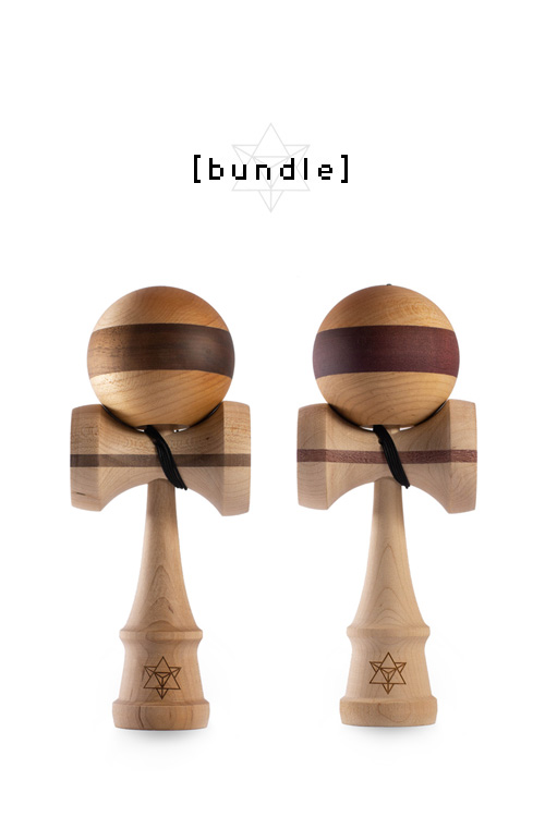 BIG BROTHER MAPLE – WALNUT / PURPLEHEART (Bundle)